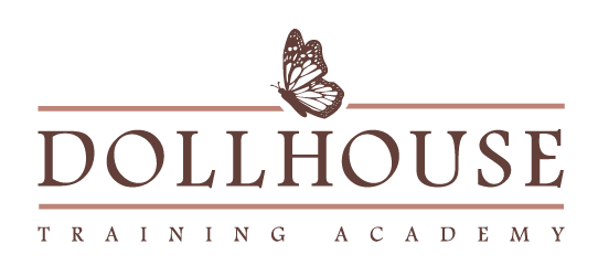 Dollhouse Training Academy Logo